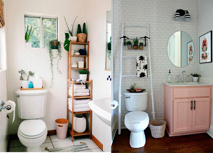 Banheiro pequeno 40 soluções lindas para aproveitar o espaço -> Banheiro Pequeno Solucões