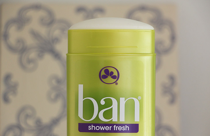 antitranspirante ban