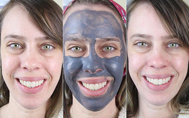 Teste na pele oleosa: Máscara Detox com carvão ativado Mary Kay