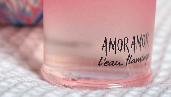 Perfume novo: Amor Amor L'eau Flamingo