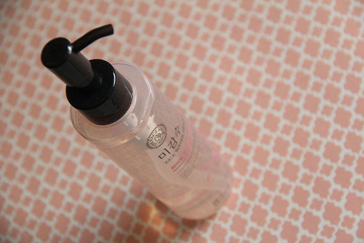 óleo de limpeza the face shop