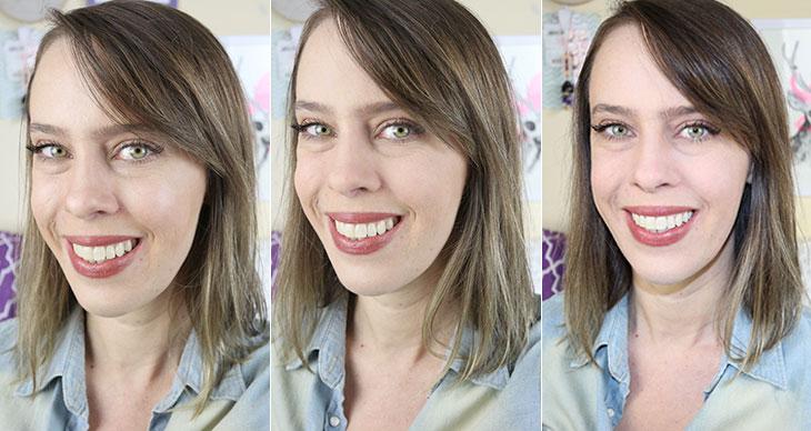 Resenha na pele oleosa: Pó facial Segunda Pele Contém1g