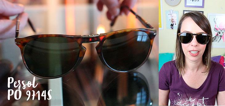 5 opções de óculos de sol para quem tem rosto oval e fino