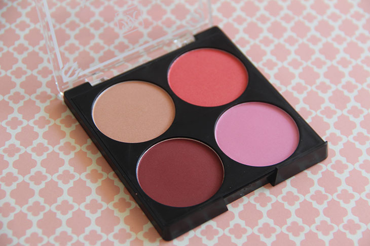 paleta de blushes rk by kiss