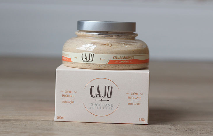 Resenha: Creme Esfoliante Caju L'Occitane au Brésil