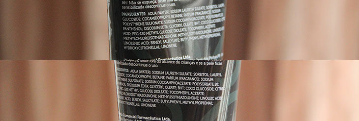 shampoo antirresíduos efeito detox