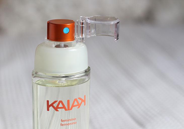 Testei o aroma Kaiak Feminino da Natura
