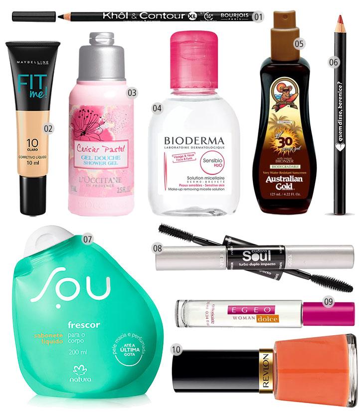 achados cosméticos