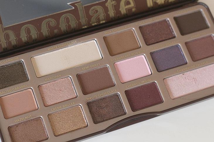 Resenha: paleta de sombras Chocolate Bar da Too Faced