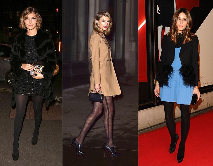 7f57719bfc1 Embora eu concorde que vestidinho preto + meia calça da mesma cor é uma  dupla imbatível