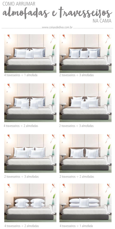 Decoração: 3 dicas arrumar a cama como de capa de revista!