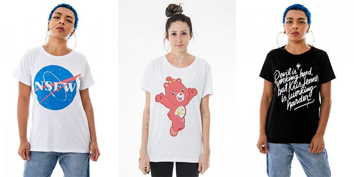 311cebf72 3 lojas online de camisetas super legais!