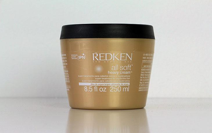 5a17d0abd20 Minha experiência com a máscara All Soft Heavy Cream, da Redken!